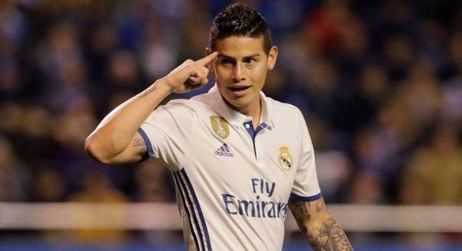 Frustrasinya James Rodriguez di Real Madrid